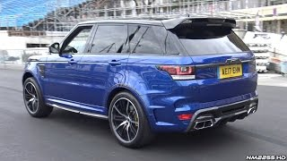 Overfinch Supersport Range Rover SVR LOUD Exhaust Sounds!