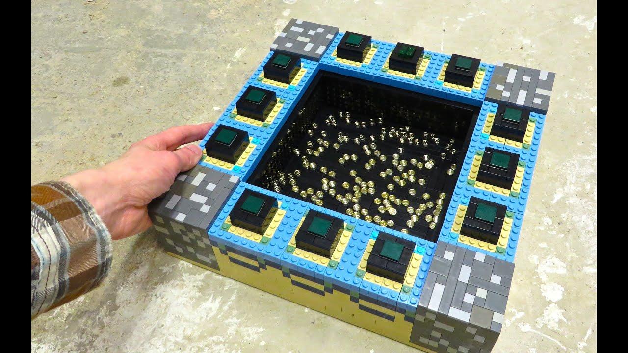 Lego End Portal Minecraft Youtube