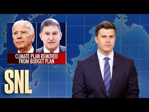 Weekend Update: Biden's Climate Plan Dropped from Bill - SNL