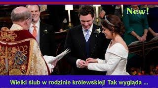 Wielki ślub w rodzinie królewskiej! Tak wygląda suknia księżnej