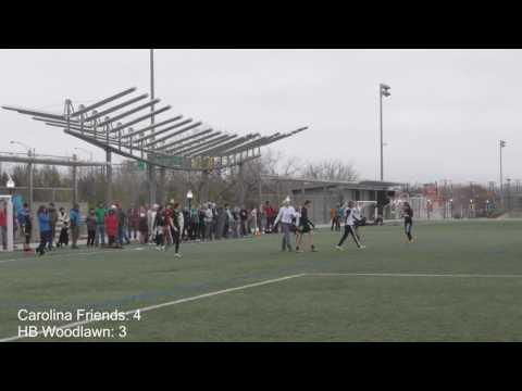 Carolina Friends School vs HB Woodlawn | Girl's final at 2017 YULA Invite