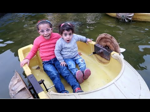ركبنا اصغر مركبا فى العالم !! مغامرات عائلة محمد