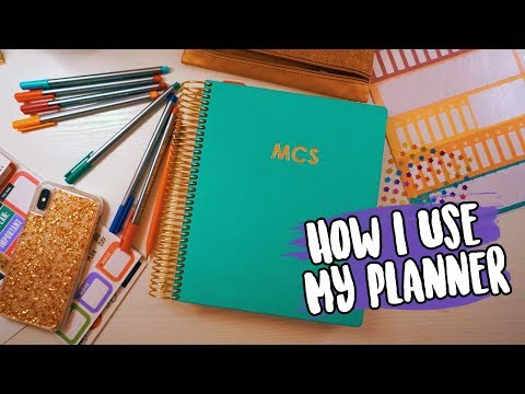 All About My College Planner! // Plan With Me