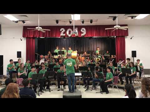 Raiders March arr. Paul Lavender - Cerro Villa Middle School Advanced Band 2019