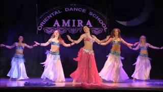 Professional belly dance by Amira Abdi  2014 Ya salam al baladi