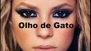 Como fazer maquiagem olho de gato por Daianny Martins
