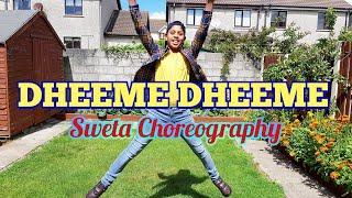 Dheeme Dheeme    Tony Kakkar    Sweta Choreography    Dance Cover