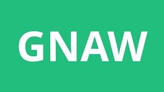 How To Pronounce Gnaw - Pronunciation Academy
