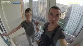 Спартак и Настя - #30 - Пол на балконе своими руками - Утепление лоджии