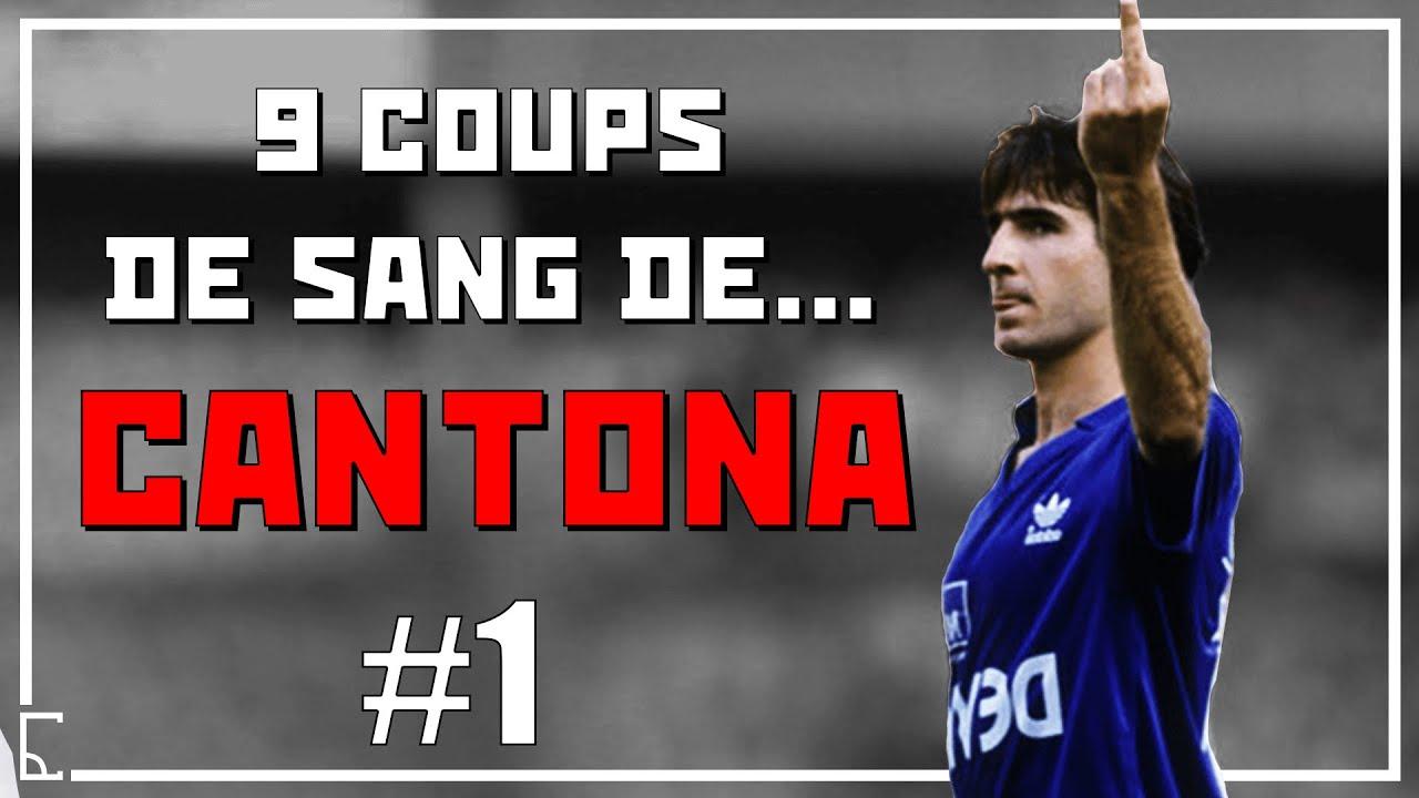 Jadon sancho, la nouvelle recrue de manchester united, a remis un numéro de maillot. Eric Cantona 9 Coups De Sang En France 1 Youtube
