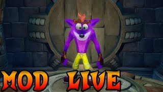 Moddo Crash Bandicoot N.Sane Trilogy in LIVE