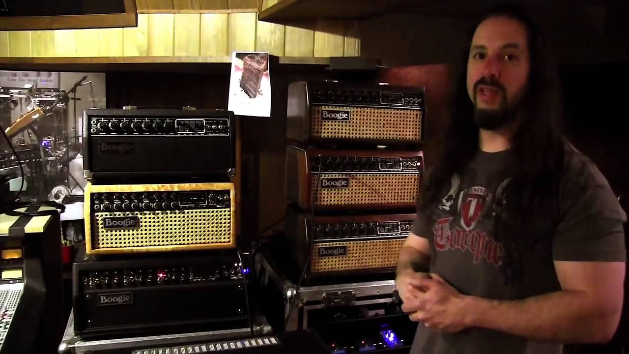 John Petrucci Dream Theater Studio Rig Tour