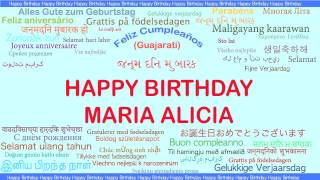MariaAlicia   Languages Idiomas - Happy Birthday