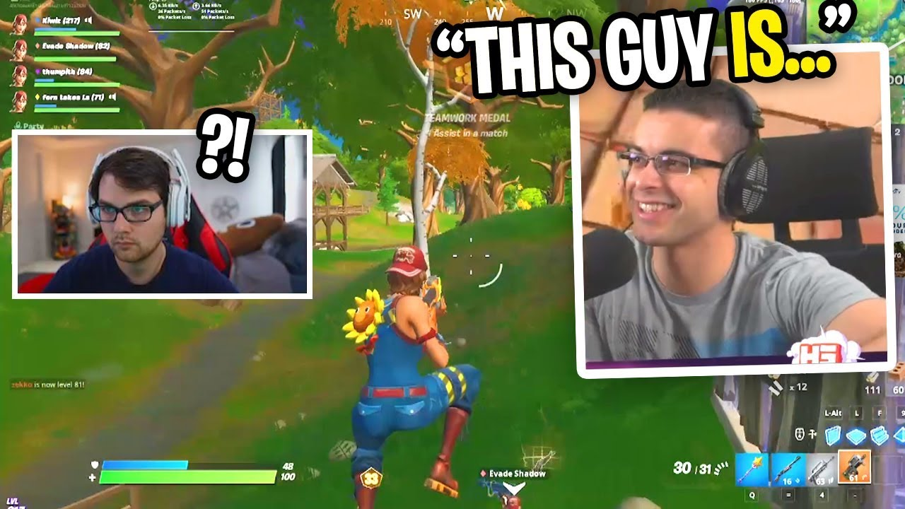 Nick Eh 30 SPECTATED ME and said THIS about me... (Fortnite Chapter 2) thumbnail