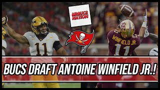 Tampa Bay Buccaneers DRAFT Antoine Winfield Jr. with the 45th Overall Pick!