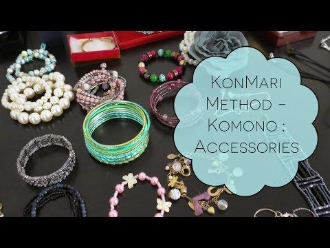 KonMari Method - Komono : Accessories