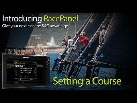 B&G RacePanel - Setting a Windward / Leeward Course