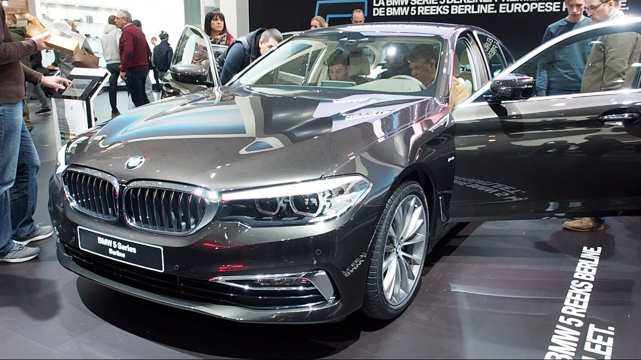 all new bmw 5 series sedan 2017 in detail review walkaround interior