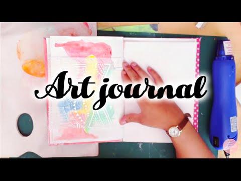 Art Journal - L'art d'être heureux (doodling)