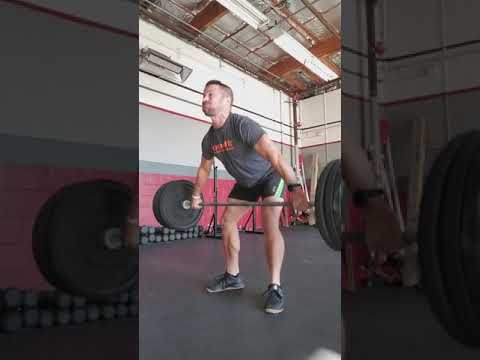 Pause snatch from lift off 1*1*4 @155 set 2