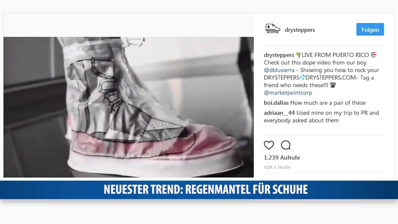 Neuster Trend Regenmantel Fur Schuhe