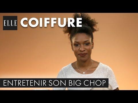 Entretenir son big chop : la technique du bain d'huile I ELLE Coiffure