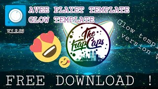 FREE DOWNLOAD GLOW BLUE AVEE PLAYER TEMPLATE