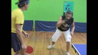 Table Tennis - Удар справа (обучение для начинающих)