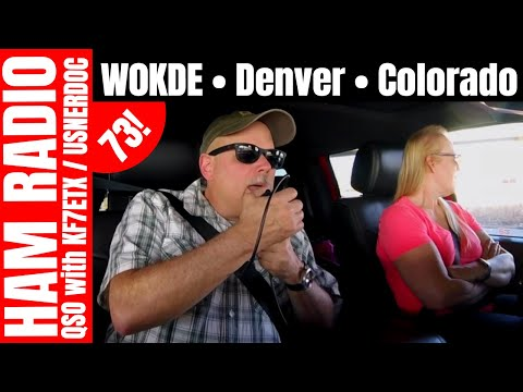 Mobile Ham Radio Contact  |  W0KDE • Denver • Colorado