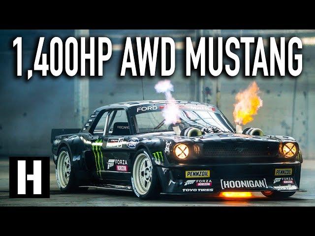 Ken Block's 1,400hp AWD Ford Mustang Hoonicorn V2: Straight from Gymkhana TEN!