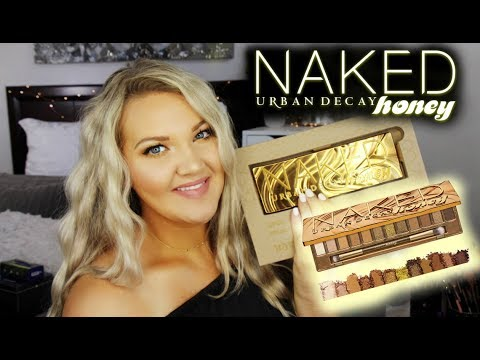 NEW URBAN DECAY NAKED HONEY PALETTE   IS IT WORTH IT? thumbnail