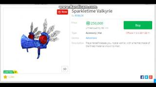 Should i buy the Sparkletime Valkyrie? / ROBLOX