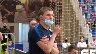 Обзор матча 14 марта Мини футбол Чемпионат России МФК Тюмень Синара 4 4