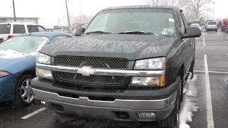 2003 Chevy Silverado LS Start Up and Tour