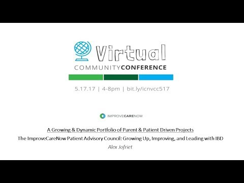 ICN Virtual Community Conference (Spring 2017): Patient Advisory Council