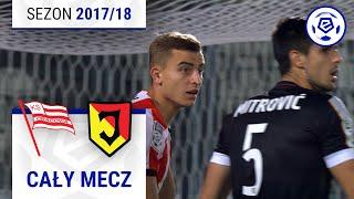 Cracovia - Jagiellonia Białystok [2. połowa] sezon 2017/18 kolejka 08