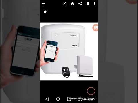 Configuração central GSM ecp