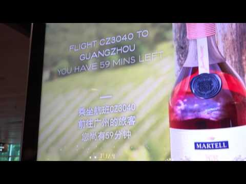 Martell Beacon & SmartContent campaign in Changi Airport | JCDecaux Singapore