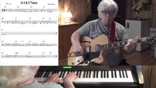 M.A.S.H Theme - Jazz guitar & piano cover ( Johnny Mandel )