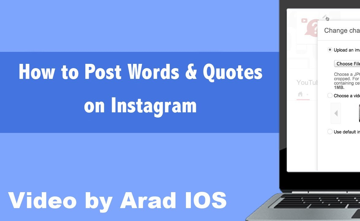 how to make instagram quotes