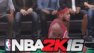 LeBron James Head Injury - Warriors vs Cavaliers - Game 4 - June 11, 2015 - 2015 NBA Finals