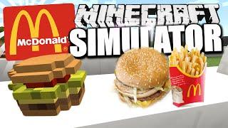 quot;MCDONALD39;S SIMULATORquot; in Minecraft