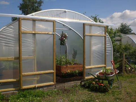 Plans For Building Greenhouse With Sliding Glass Doors