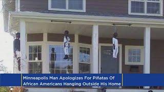 N. Minneapolis Homeowner Apologizes For Controversial Piñatas