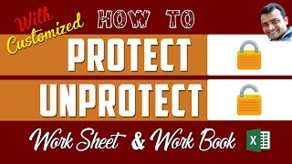 How to Protect/Lock/Unprotect Excel Cell/Sheet/Workbook Bangla Tutorial #2018