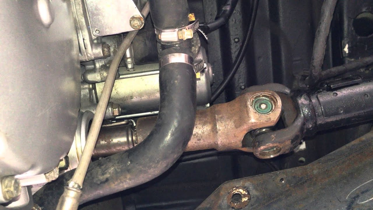 Daihatsu Hijet Gl1800 Goldwing Engine Swap Driveshaft Yoke Youtube