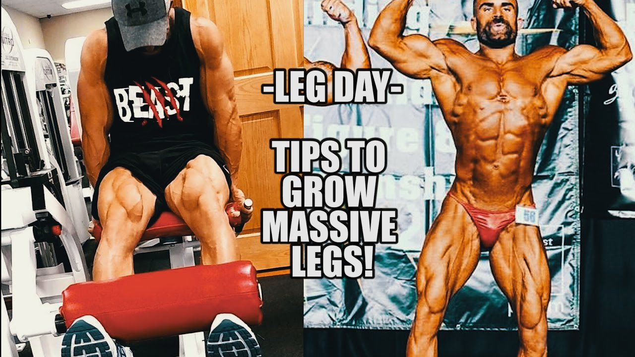 Leg workout tips with the ironmaster home gym how to grow massive