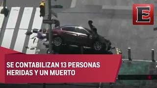 Estado de pánico por accidente en Times Square