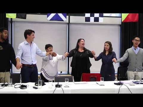 Some key moments from the September 2017 PM Youth Council meetings