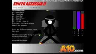 Sniper Assassin 2 Fast Walkthrough